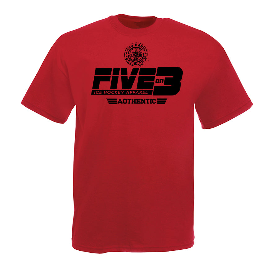 S17 Authentic Five On 3 Tee Shirt