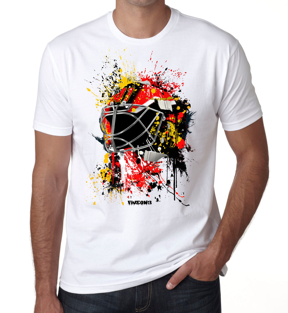 Kids Ottawa Splat Attack Goalie Mask T Shirt