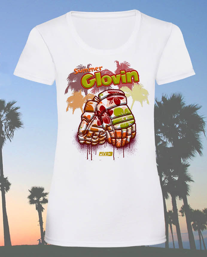 Summer Glovin Lady fit Tee