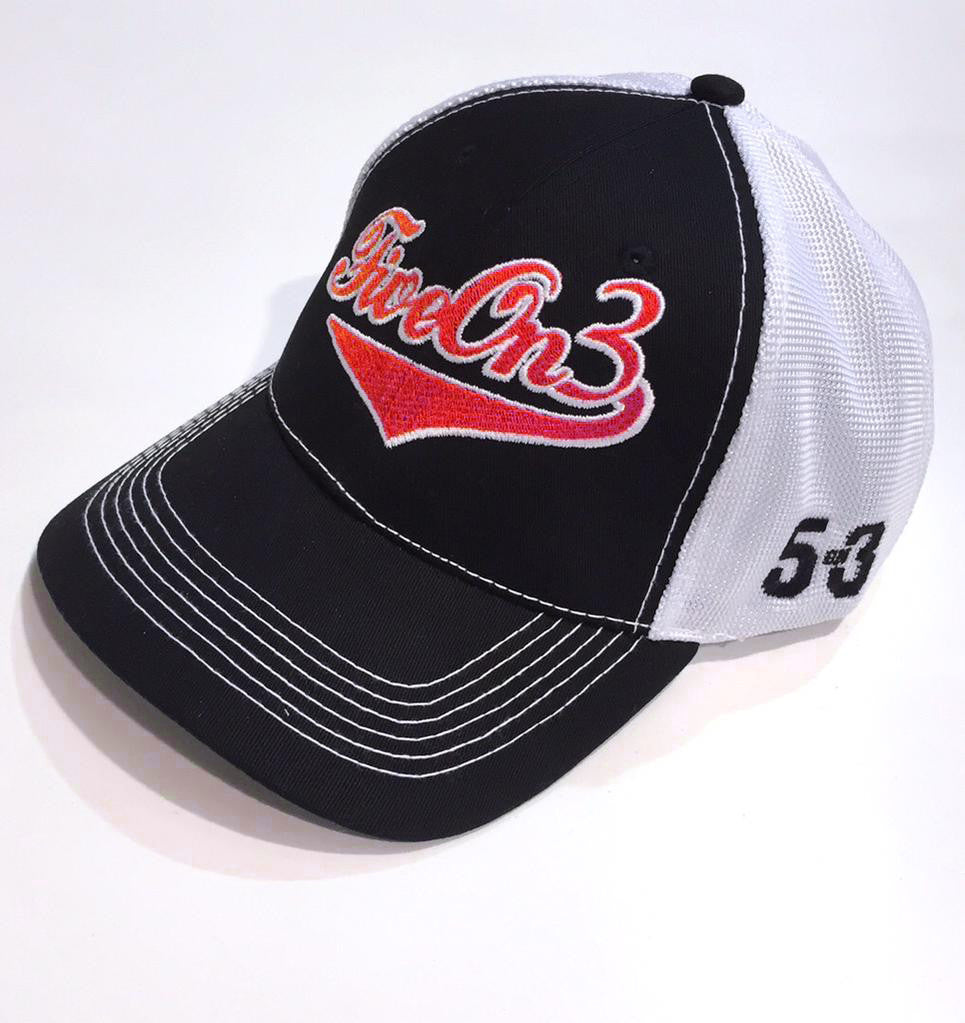 Five On 3 Trucker Mesh Cap