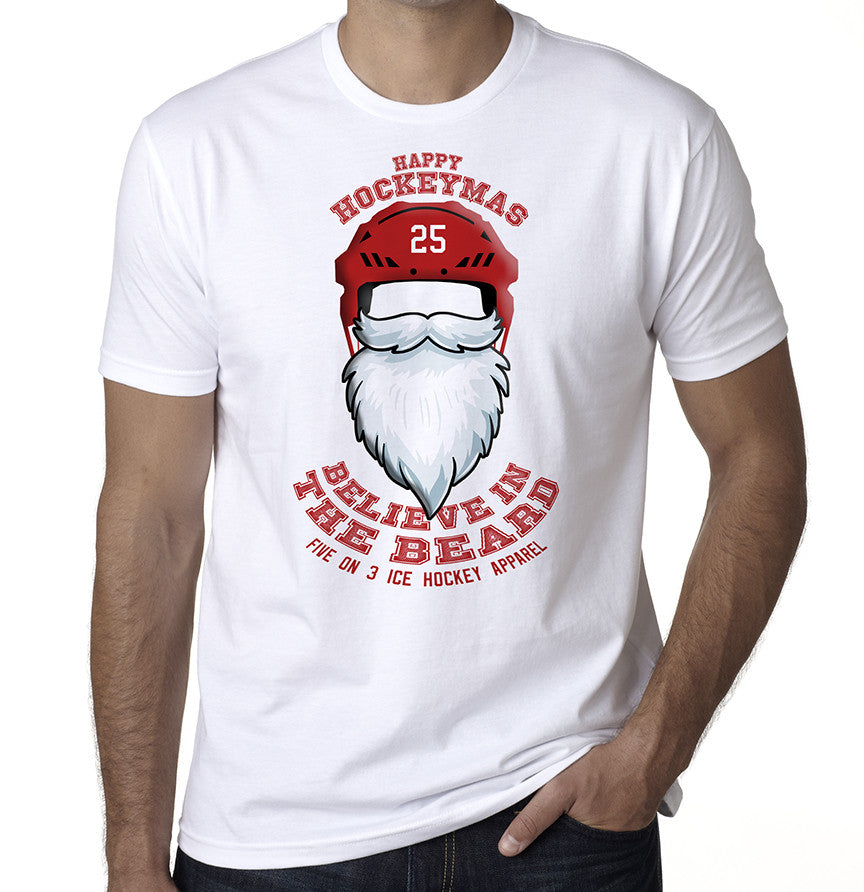Believe in the beard Christmas T Shirt