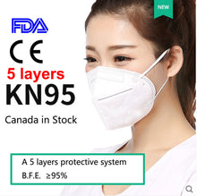 Load image into Gallery viewer, 5 layers KN95 Mask-25pcs/box