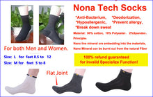 Load image into Gallery viewer, NanoTech Socks 1 pair