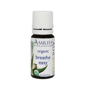 Amrita Breathe Easy Organic Essential Oil Blend