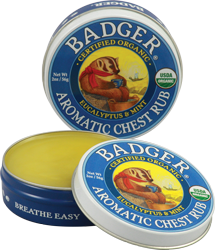 Badger Aromatic Chest Rub Eucalyptus & Mint
