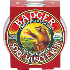 Badger sore muscle rub 2 oz cayenne and ginger