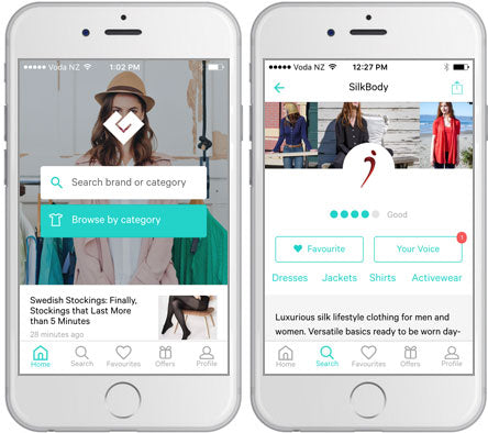 Check out the Good On You ethical fashion rating app