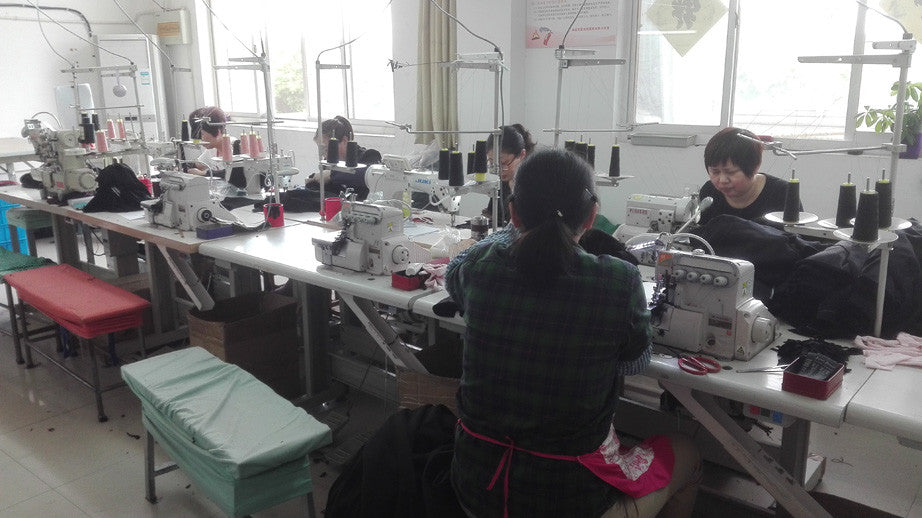 Silkbody factory workers
