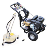 Driveway Cleaning Pack - KM3200P Petrol Pressure Washer, VT62-300S Rotary Surface Cleaner and Turbo Nozzle