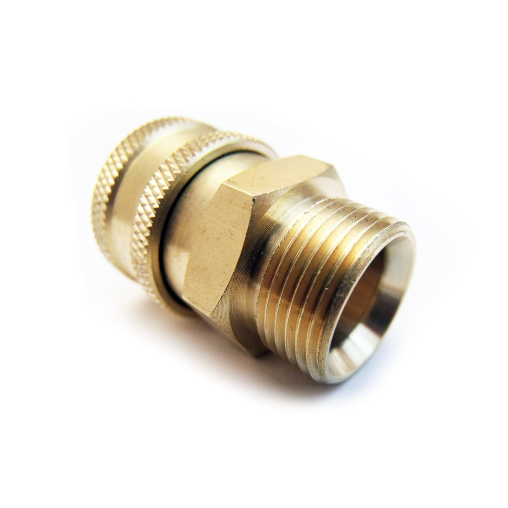 "M22 Male screw thread to Quick Release 3/8"" Female high pressure Coupling"