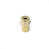 Low Pressure Chemical Spray Jet Nozzle 65 degrees - Brass 1/4 inch BSP