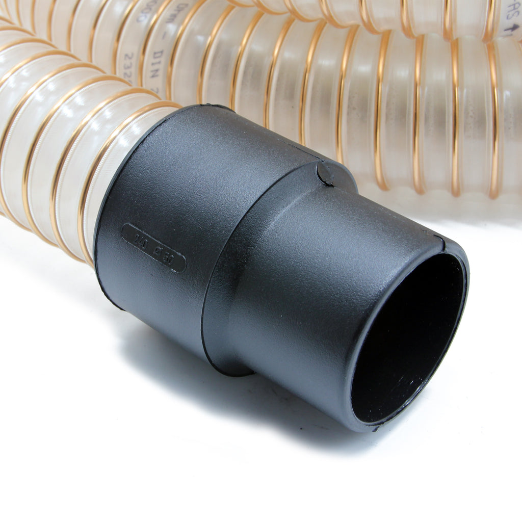 5m Wire Reinforced Clear Gutter Vacuum Hose (51mm)
