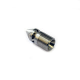 "Drain Sewer Cleaning Nozzle for Jetting (4000 PSI) (3/8"") 1 forward, 8 rear nozzles"