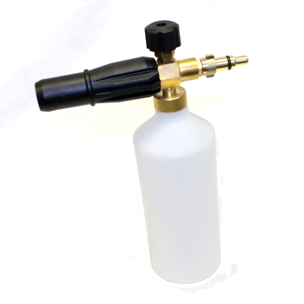 Snow Foam Spray Nozzle / Bottle - Variable Nozzle for Bosch, Karcher, Kew Industrial, Lavor, Nilfisk Alto