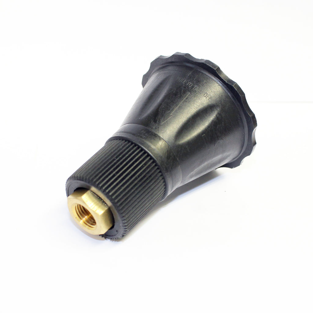 "Adjustable High / Low Pressure Nozzle Jet Holder (1/4"" Female - 1/4"" Female)"