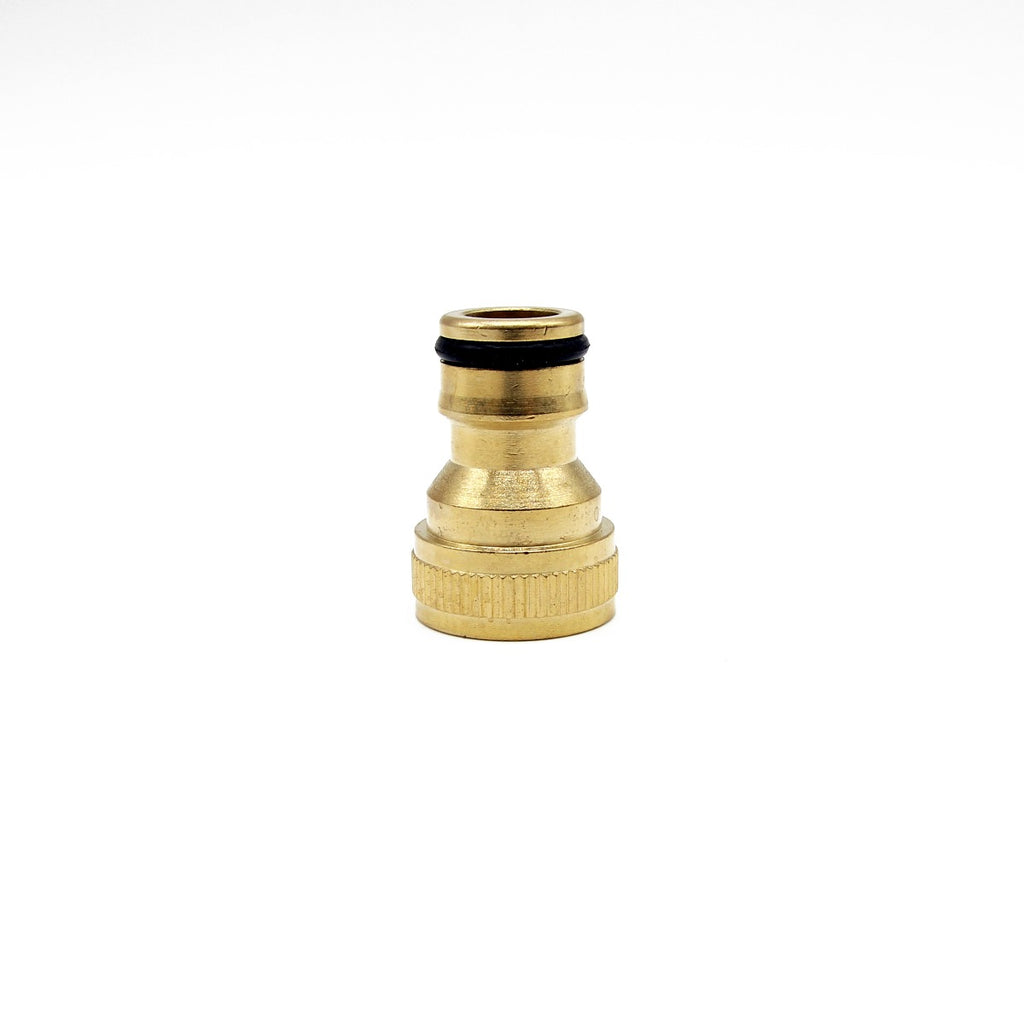 "Hozelock Male Quick Release to 1/2"" Female Screw Coupling - Brass"