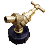 Brass IBC Tap Adapter / Reducer for Water Tank