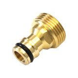 "Brass Hozelock Gardena Male - 3/4"" Male Screw Thread Adapter Coupling"