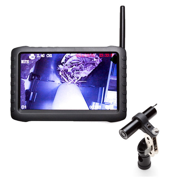 "Wireless Gutter Vac Inspection Camera with 5"" LCD Display"