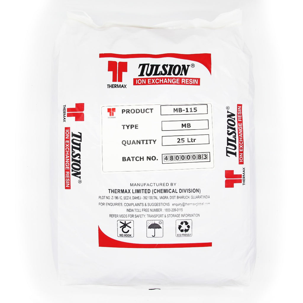 Tulsion MB115 DI Ion Exchange Resin 25 Litre