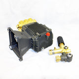 Triplex Pump and Unloader for Kiam KM3700P / KM3600DX Pressure Washer (25mm Drive Shaft)
