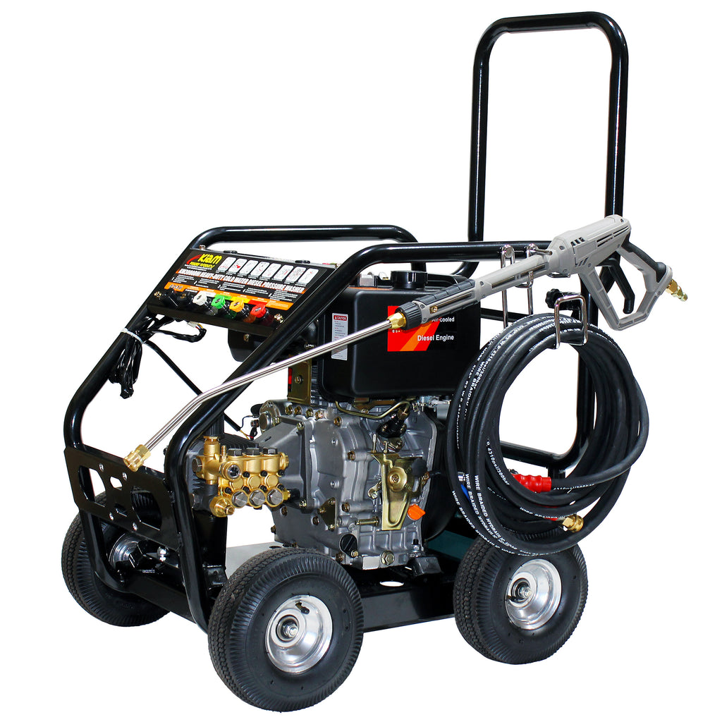 Business Start-Up Pack Pressure Washer Diesel (KM3600DX, KV80-3, VT62-420S and Accessories)