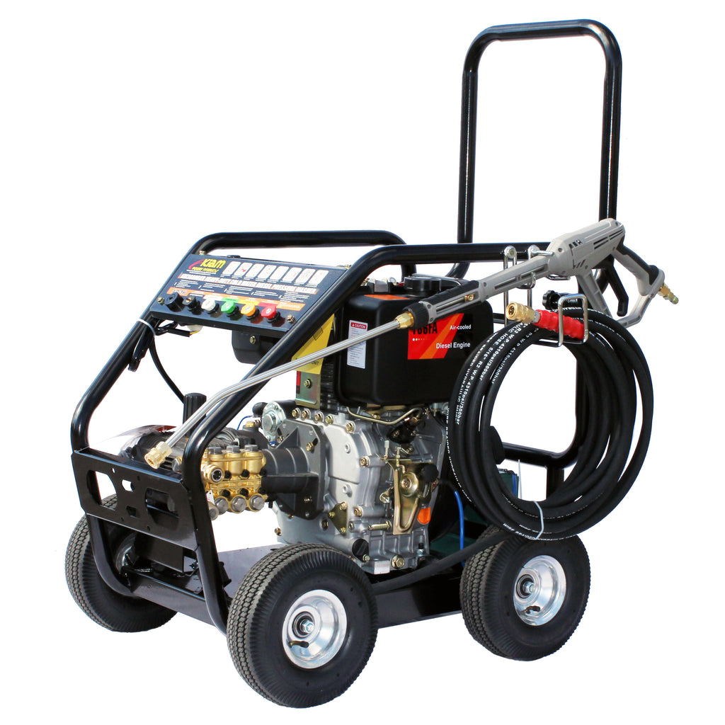 Business Start-Up Pack Pressure Washer Diesel (KM3600DXR, KV80-3, VT62-420S and Accessories)