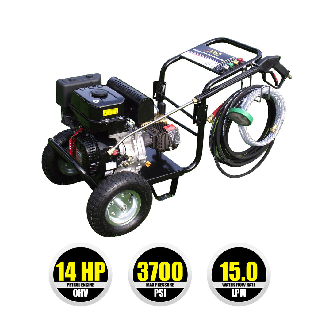 Kiam KM3700P Petrol High Pressure Washer Jet Cleaner (14HP)