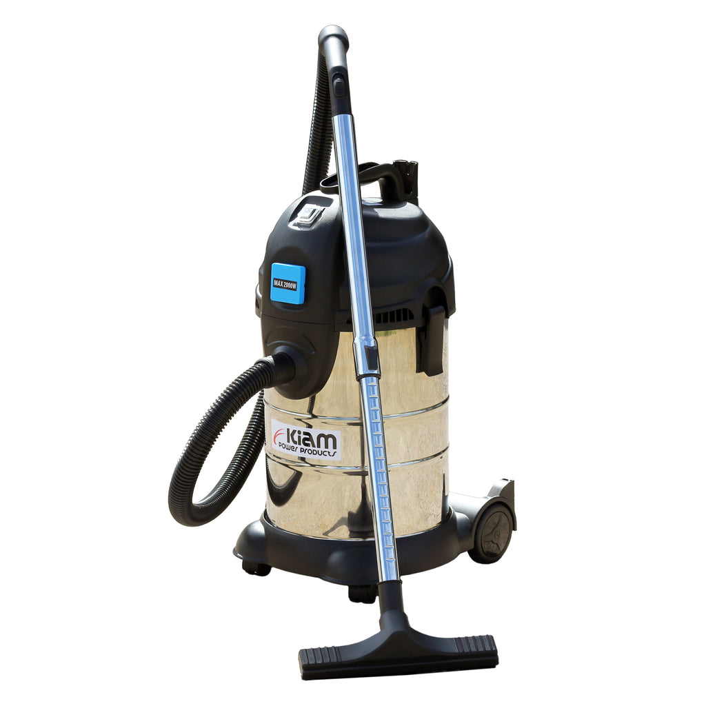 Kiam KV30PT 1400W Professional Wet and Dry Vacuum Cleaner with 2000W Power Take Off