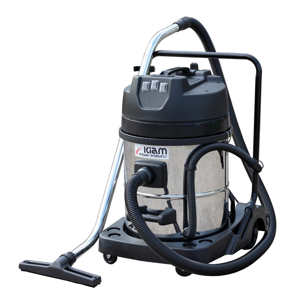 Kiam KV60-3 3000W Triple Motor Industrial Wet and Dry Vacuum Cleaner
