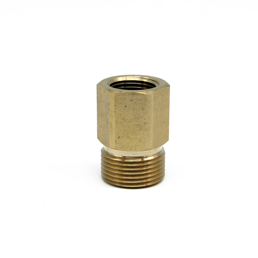 "M22 Male Screw to 3/8"" Female Screw Thread Coupling"