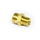 "M22 Male Screw to 3/8"" Male Screw Thread Coupling"