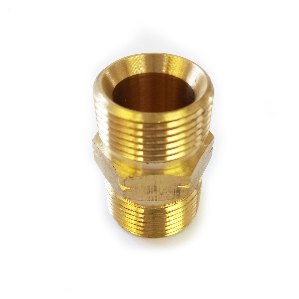 M22 Male to M22 Male Screw Thread Coupling