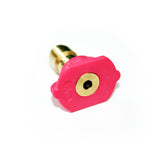 Quick Release Detergent Nozzle Low Pressure (Pink) - Straight jet