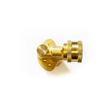 "120° Swivel Nozzle Holder 1/4"" Female Screw Thread - 11.6mm (1/4"") Female Quick Release (5 Position)"