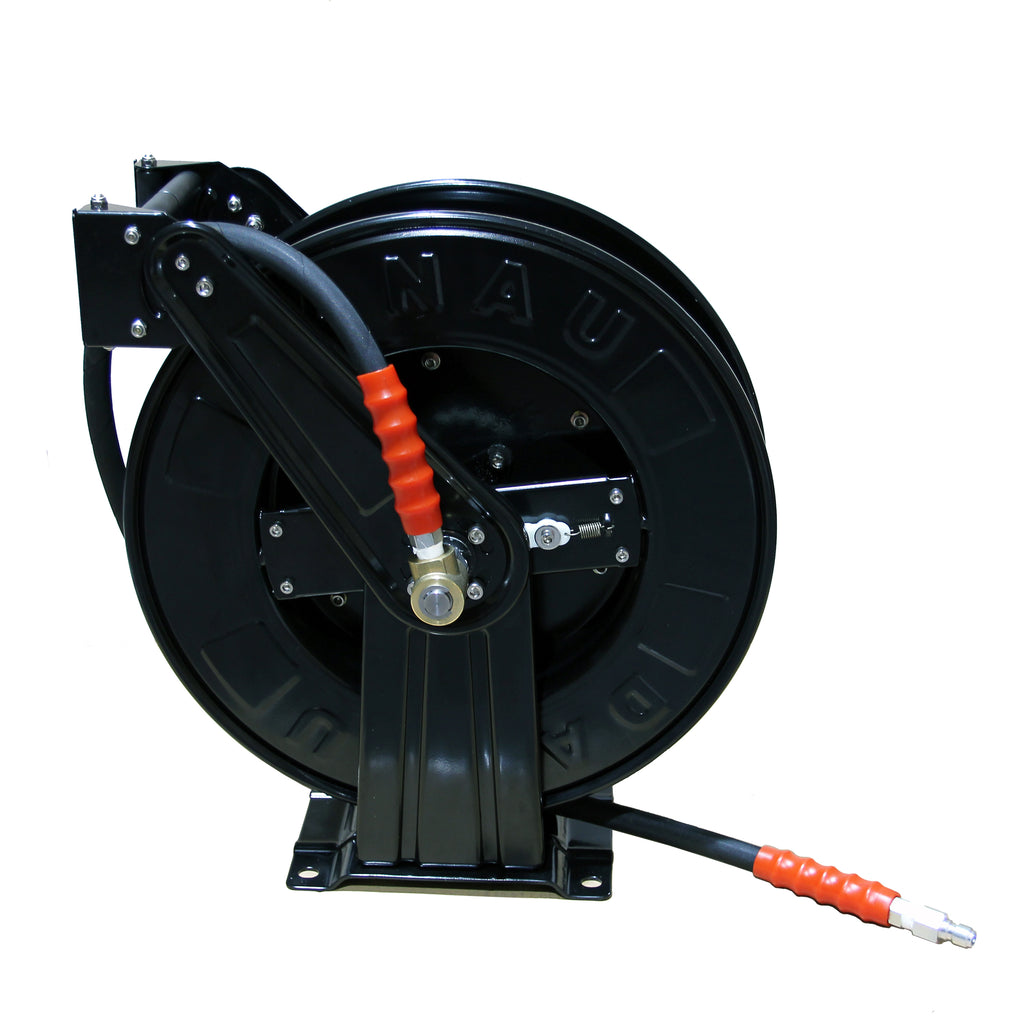 20m Retractable HOSE REEL with Hose Tail Hose for High Pressure Washer