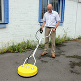 "Kiam 18"" Rotary Floor Cleaning Tool Flat Surface Cleaner (Whirlaway BE type)"