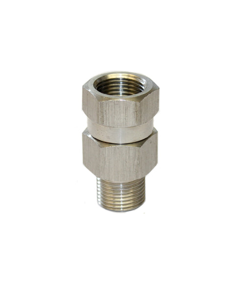 High pressure washer SWIVEL Stainless Steel Hose Coupling 3/8 Male - 3/8 Female ends