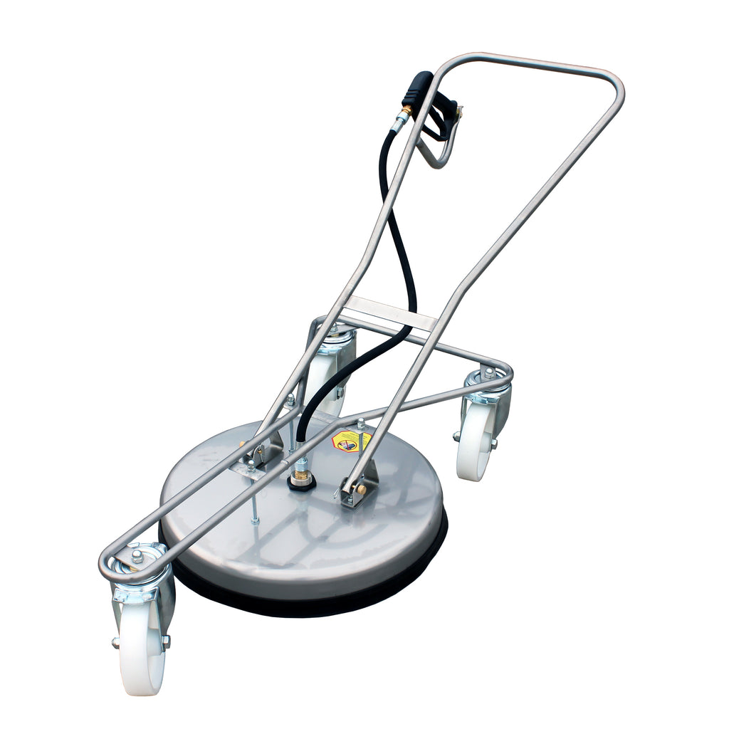 Kiam VT62 - 520S Rotary Floor Cleaning Tool STEEL - Big Wheel version,  flat surface cleaner