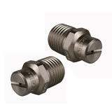 "TWO * High Pressure Spray Nozzle 025 * 25° - Stainless Steel 1/4"" BSP suits Kiam VT62 Rotary floor surface cleaner"