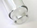 Inline Water Filter - clear plastic mesh