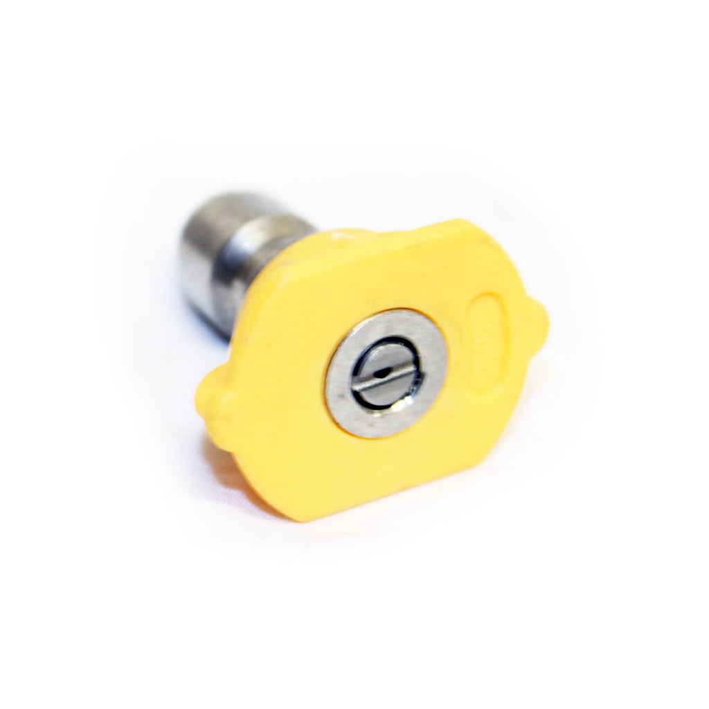 Quick Release 15° Fan Jet Nozzle (Yellow)
