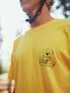 "T-Shirt ""Teddy"" LIMITED gelb"