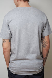 "T-Shirt ""Homage"" grau"