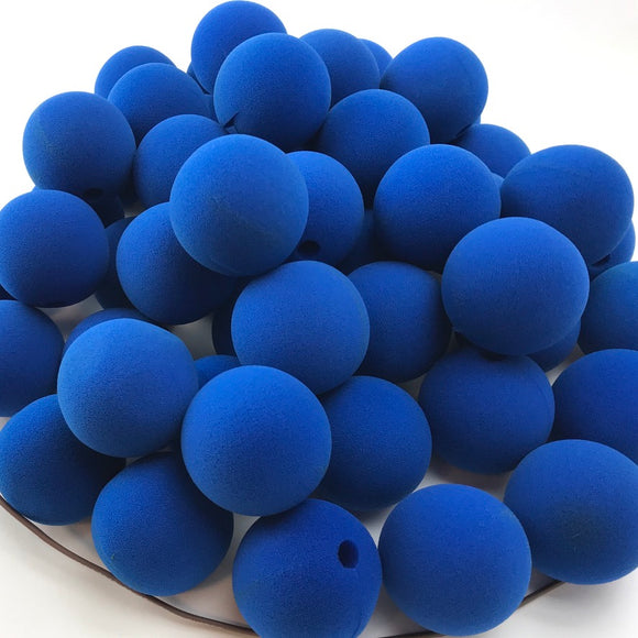 Blue Premium Foam Clown Nose 2