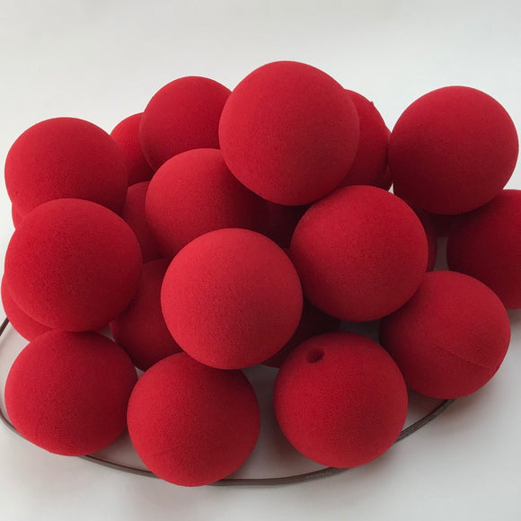 Red Premium Foam Clown Nose 2.5