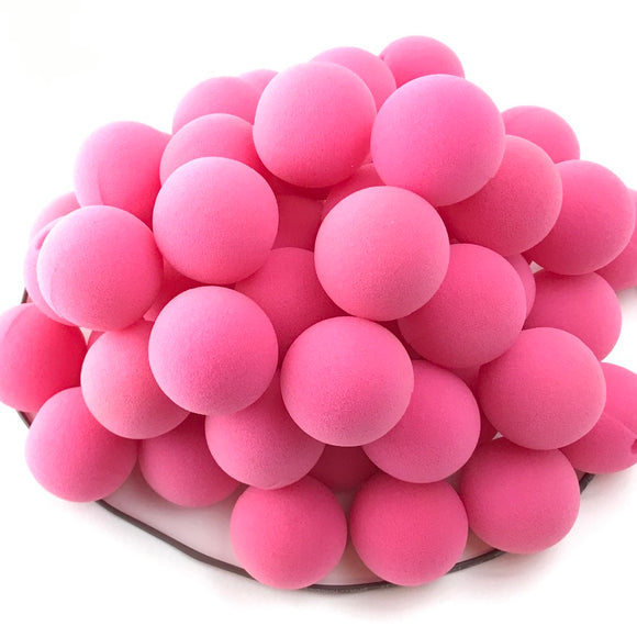 Pink (Breast Cancer Awarness) Premium Foam Clown Nose 1.5