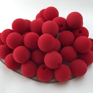 "Red Premium Foam Clown Nose 1.5"" JCN3015-RED. Sold in bags of 50. CLICK FOR DISCOUNT PRICING: from $.73 to $.57 per nose."