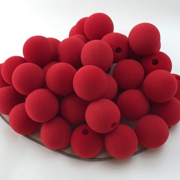 Red Premium Foam Clown Nose 1.5