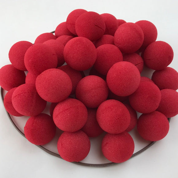 Red Premium Foam Clown Nose 1